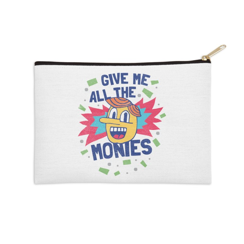 CAPITALISM IS AWESOME! Accessories Zip Pouch by Beanepod