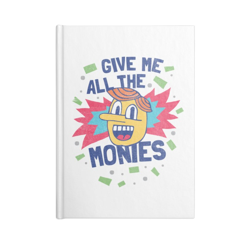 CAPITALISM IS AWESOME! Accessories Lined Journal Notebook by Beanepod