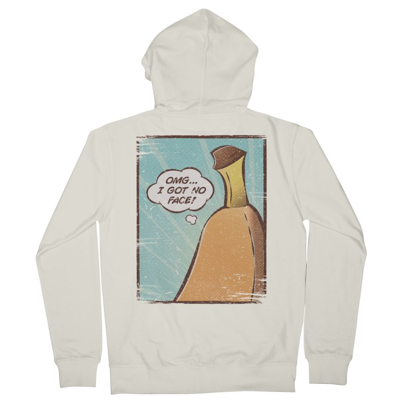 OMG... I GOT NO FACE! Women's Zip-Up Hoody by Beanepod