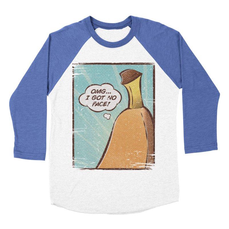 OMG... I GOT NO FACE! Men's Baseball Triblend T-Shirt by Beanepod