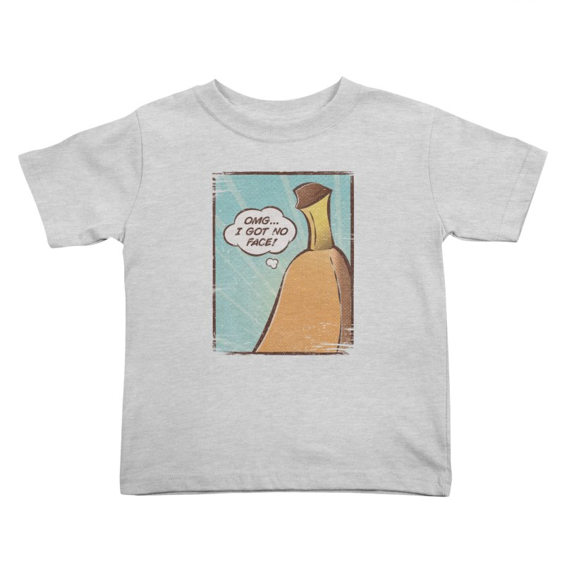 OMG... I GOT NO FACE! Kids Toddler T-Shirt by Beanepod