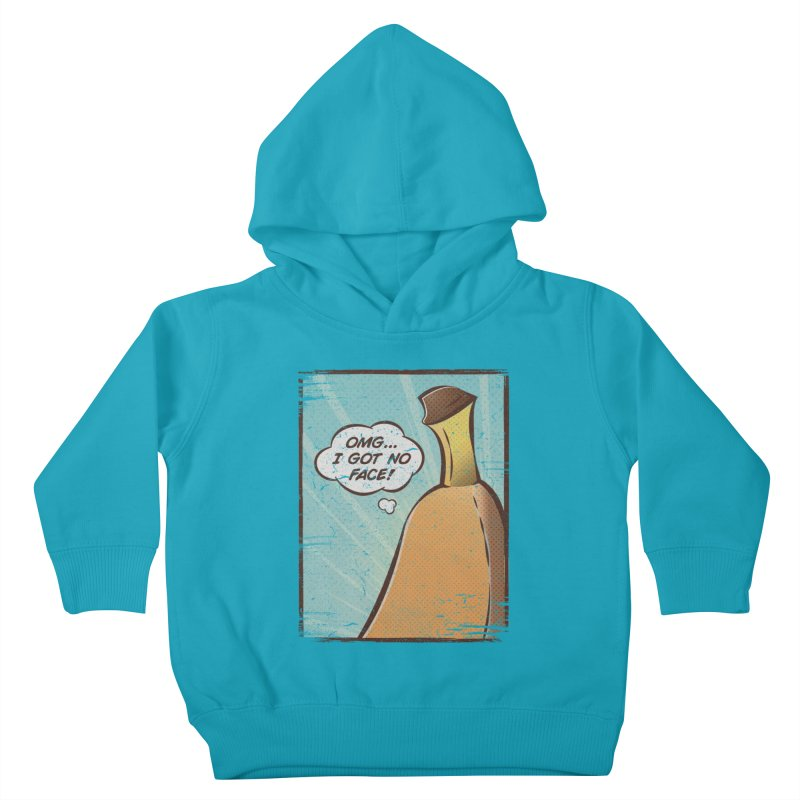 OMG... I GOT NO FACE! Kids Toddler Pullover Hoody by Beanepod