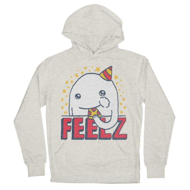 ALL OF THE FEELZ Men's French Terry Pullover Hoody by Beanepod