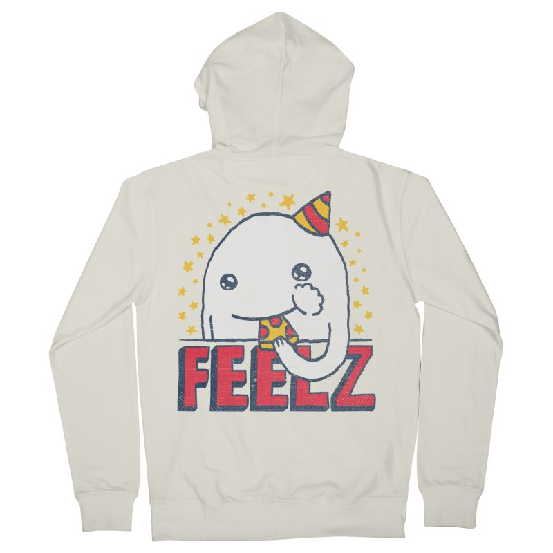 ALL OF THE FEELZ Men's Zip-Up Hoody by Beanepod
