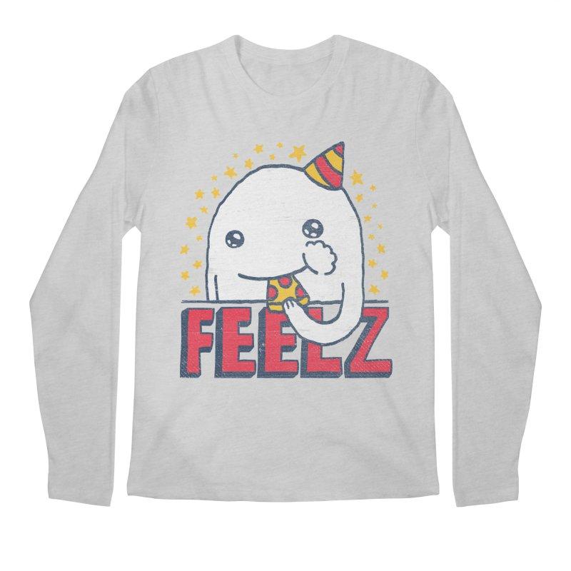ALL OF THE FEELZ Men's Regular Longsleeve T-Shirt by Beanepod