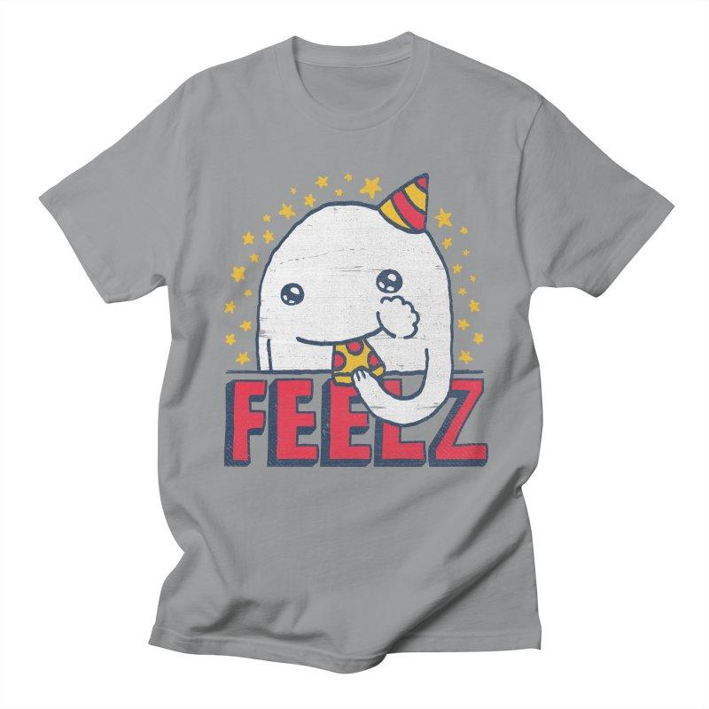 ALL OF THE FEELZ Men's Regular T-Shirt by Beanepod
