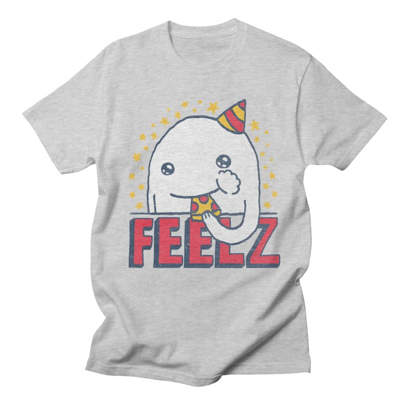 ALL OF THE FEELZ Men's Regular T-Shirt by Beanepod