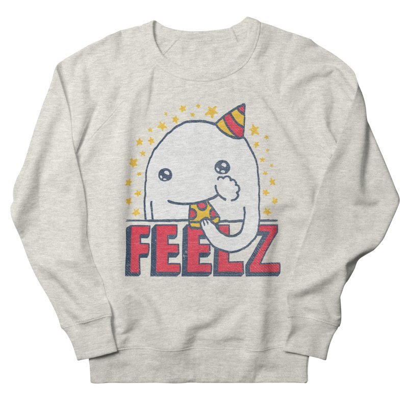 ALL OF THE FEELZ Men's French Terry Sweatshirt by Beanepod