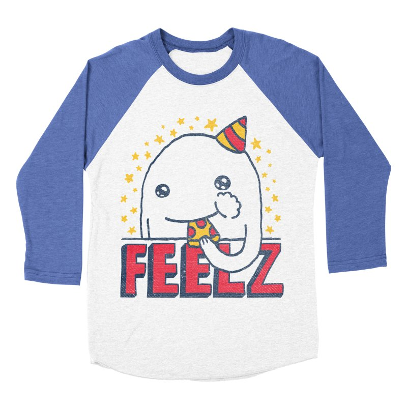 ALL OF THE FEELZ Men's Baseball Triblend T-Shirt by Beanepod
