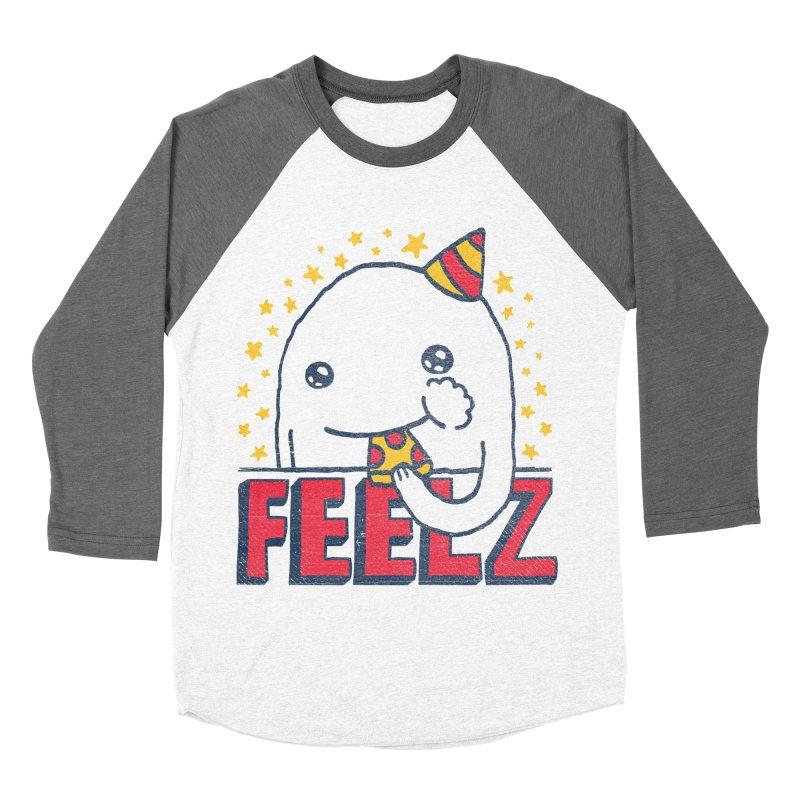 ALL OF THE FEELZ Men's Baseball Triblend T-Shirt by Beanepod
