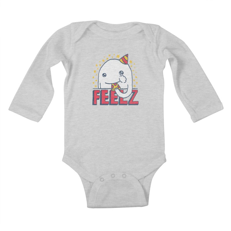 ALL OF THE FEELZ Kids Baby Longsleeve Bodysuit by Beanepod
