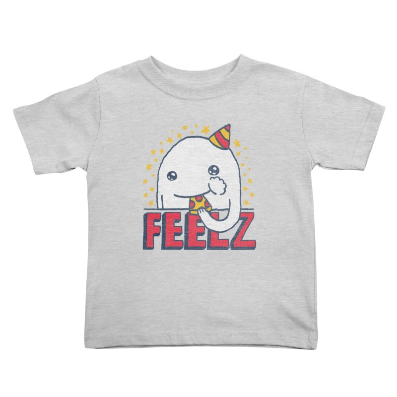 ALL OF THE FEELZ Kids Toddler T-Shirt by Beanepod