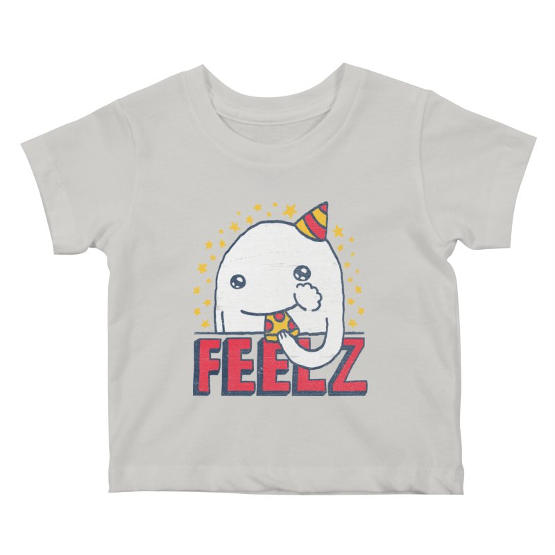 ALL OF THE FEELZ Kids Baby T-Shirt by Beanepod