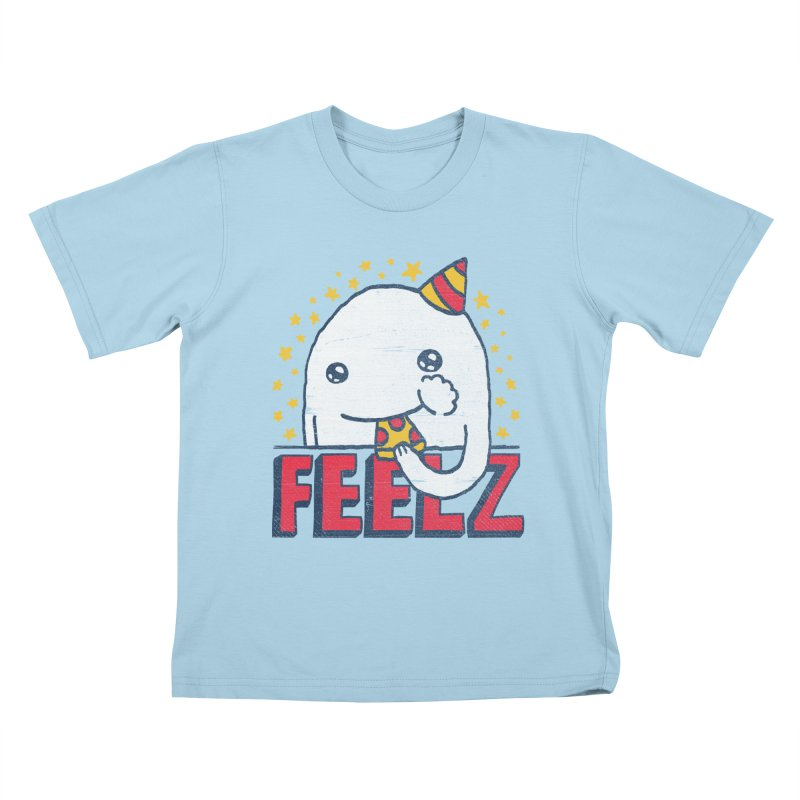 ALL OF THE FEELZ Kids T-Shirt by Beanepod