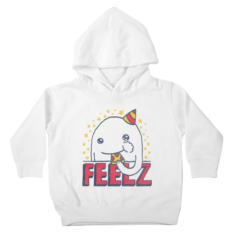 ALL OF THE FEELZ Kids Toddler Pullover Hoody by Beanepod