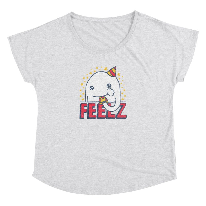 ALL OF THE FEELZ Women's Scoop Neck by Beanepod