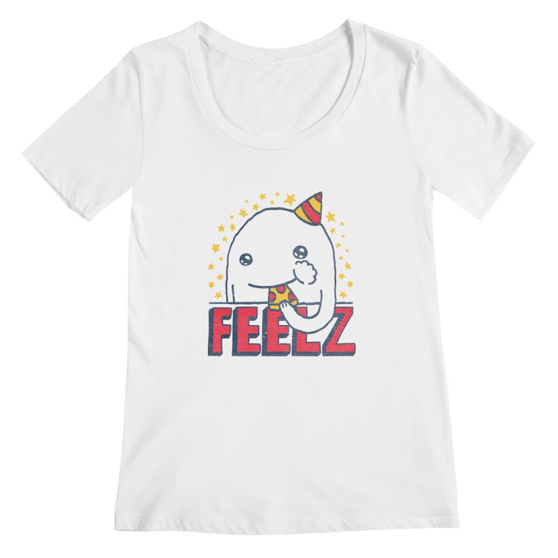 ALL OF THE FEELZ Women's Scoopneck by Beanepod