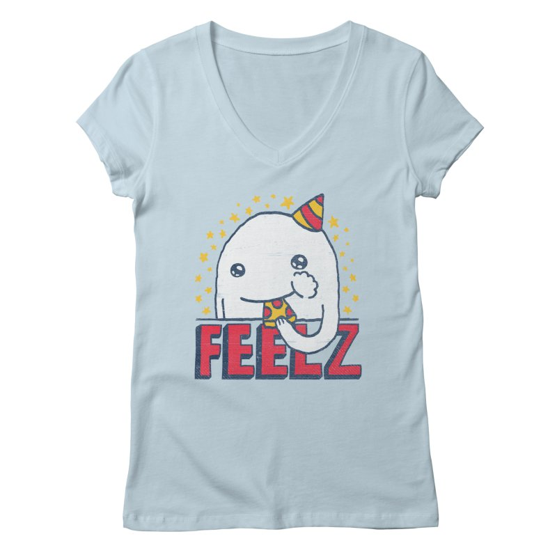 ALL OF THE FEELZ Women's V-Neck by Beanepod