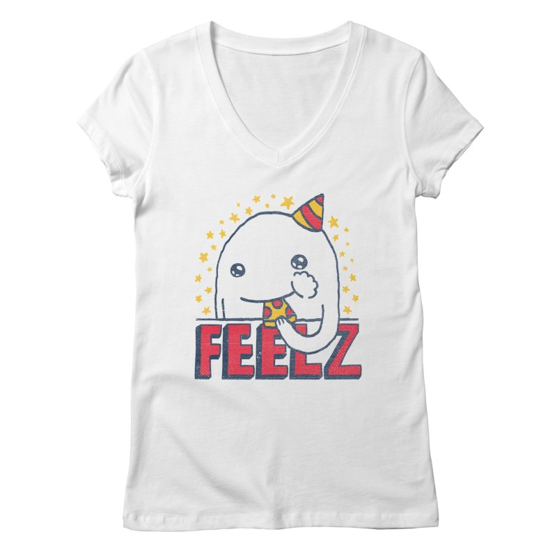 ALL OF THE FEELZ Women's V-Neck by Beanepod