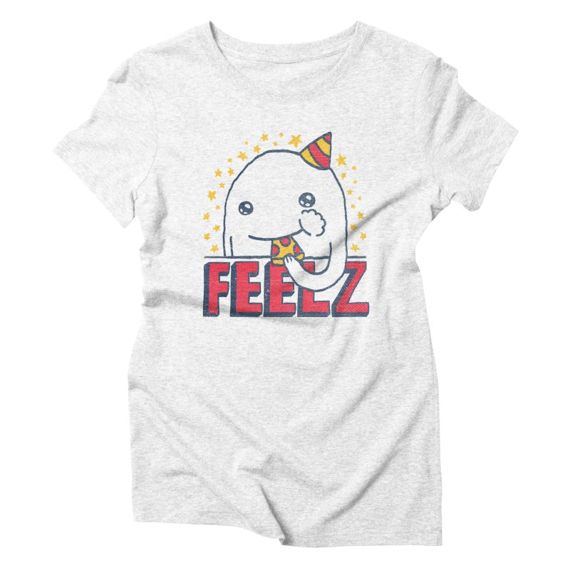 ALL OF THE FEELZ Women's Triblend T-shirt by Beanepod