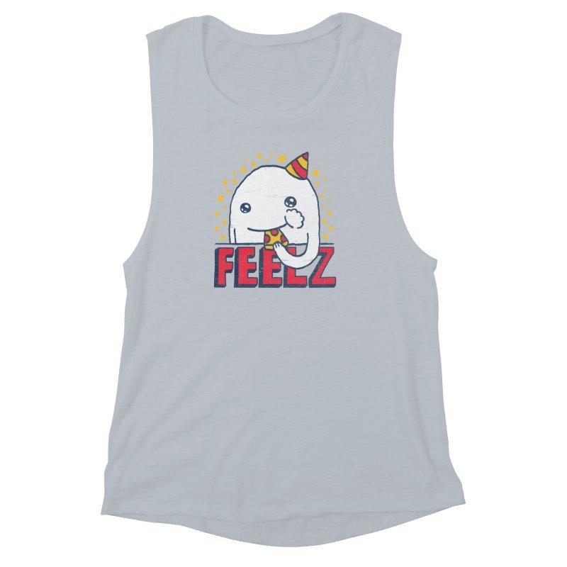 ALL OF THE FEELZ Women's Muscle Tank by Beanepod