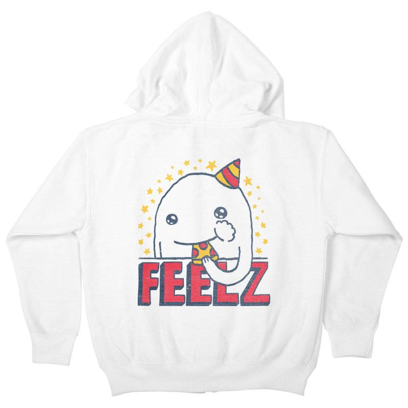 ALL OF THE FEELZ Kids Zip-Up Hoody by Beanepod