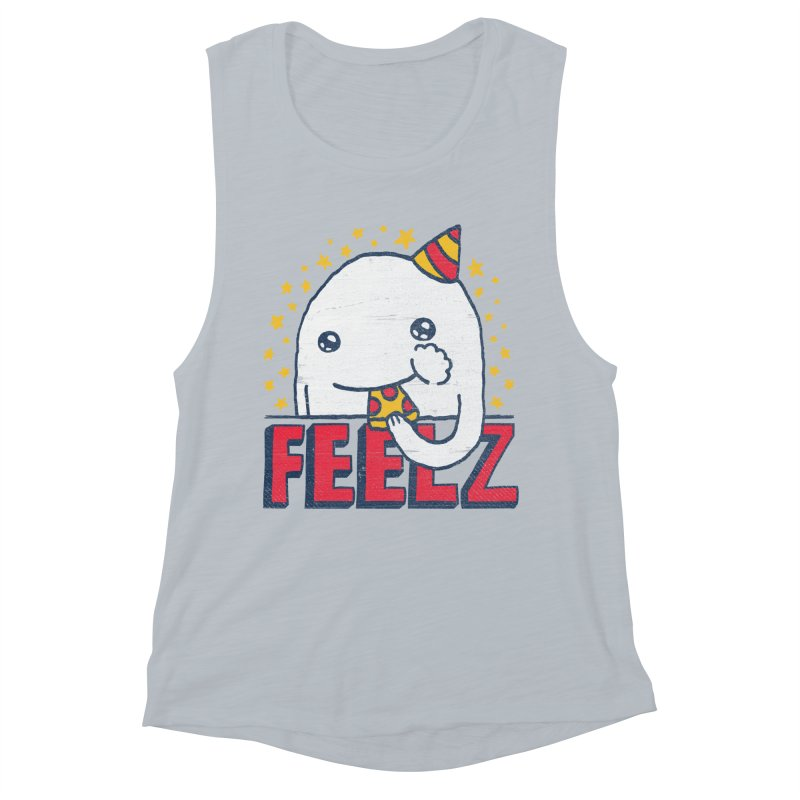 ALL OF THE FEELZ Women's Muscle Tank by Beanepod
