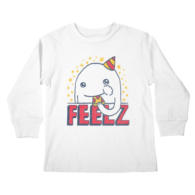 ALL OF THE FEELZ Kids Longsleeve T-Shirt by Beanepod