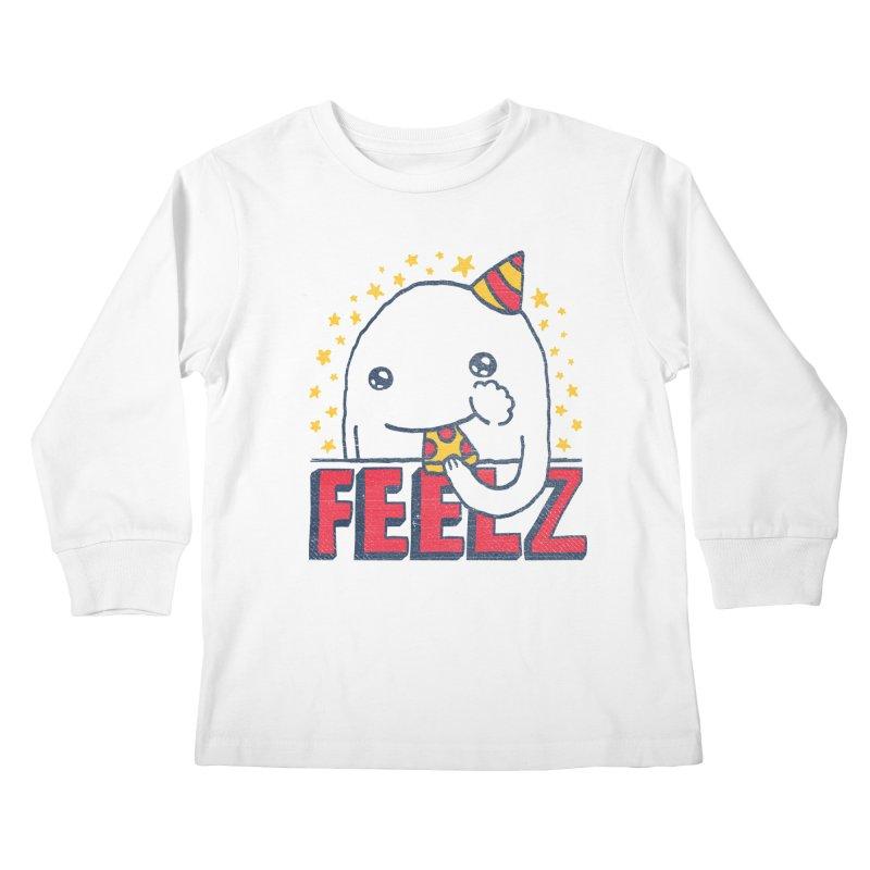 ALL OF THE FEELZ Kids Longsleeve T-Shirt by Beanepod