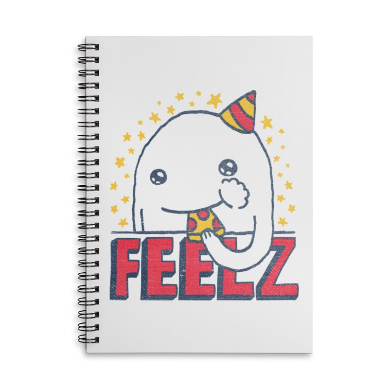 ALL OF THE FEELZ Accessories Lined Spiral Notebook by Beanepod
