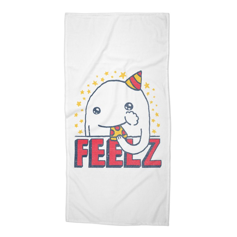 ALL OF THE FEELZ Accessories Beach Towel by Beanepod