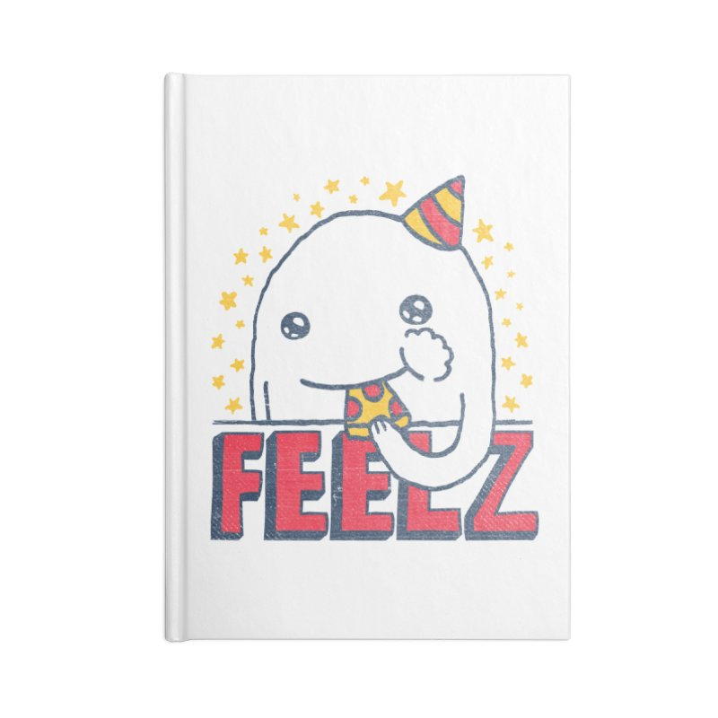 ALL OF THE FEELZ Accessories Lined Journal Notebook by Beanepod