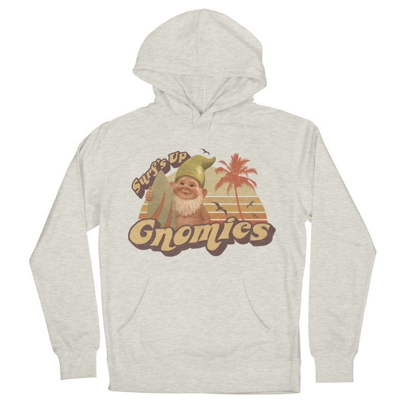 SURF'S UP GNOMIES Women's Pullover Hoody by Beanepod