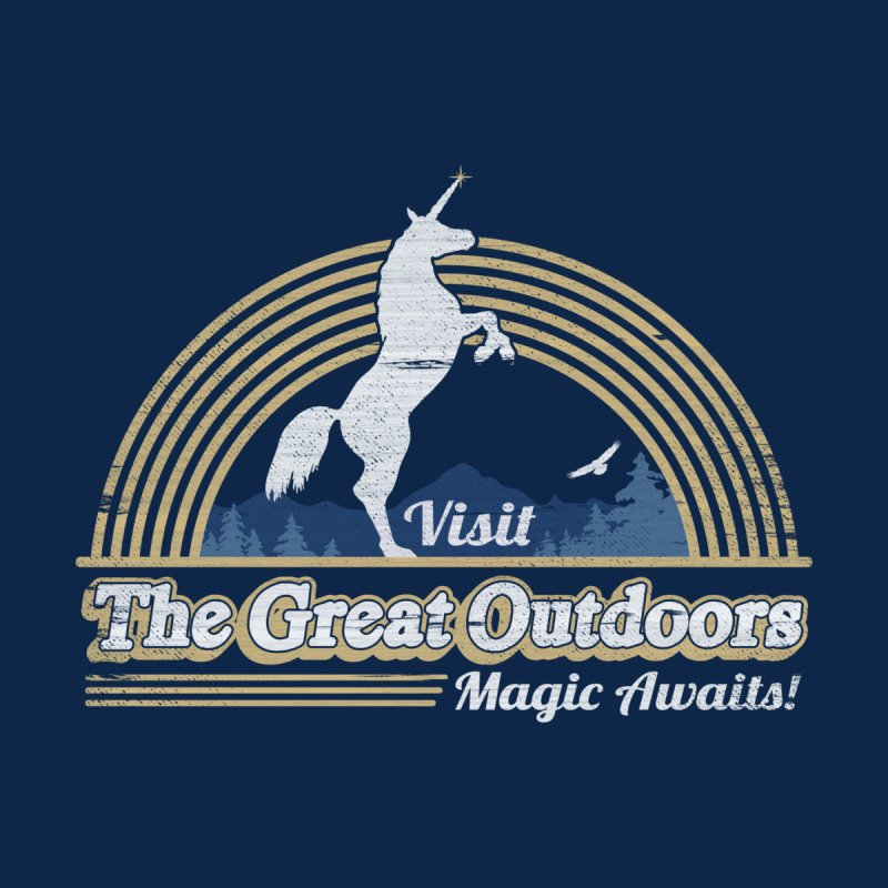 MAGIC AWAITS! Men's Triblend Tank by Beanepod