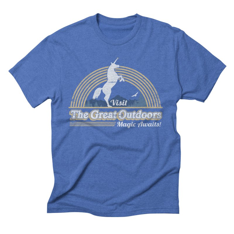 MAGIC AWAITS! Men's T-Shirt by Beanepod