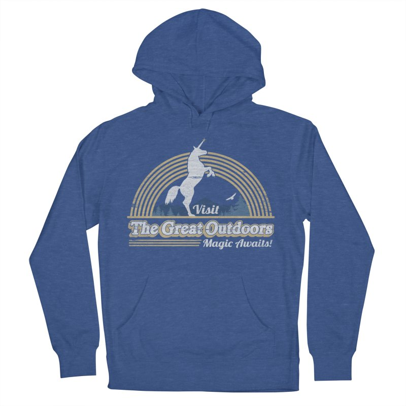 MAGIC AWAITS! Women's French Terry Pullover Hoody by Beanepod