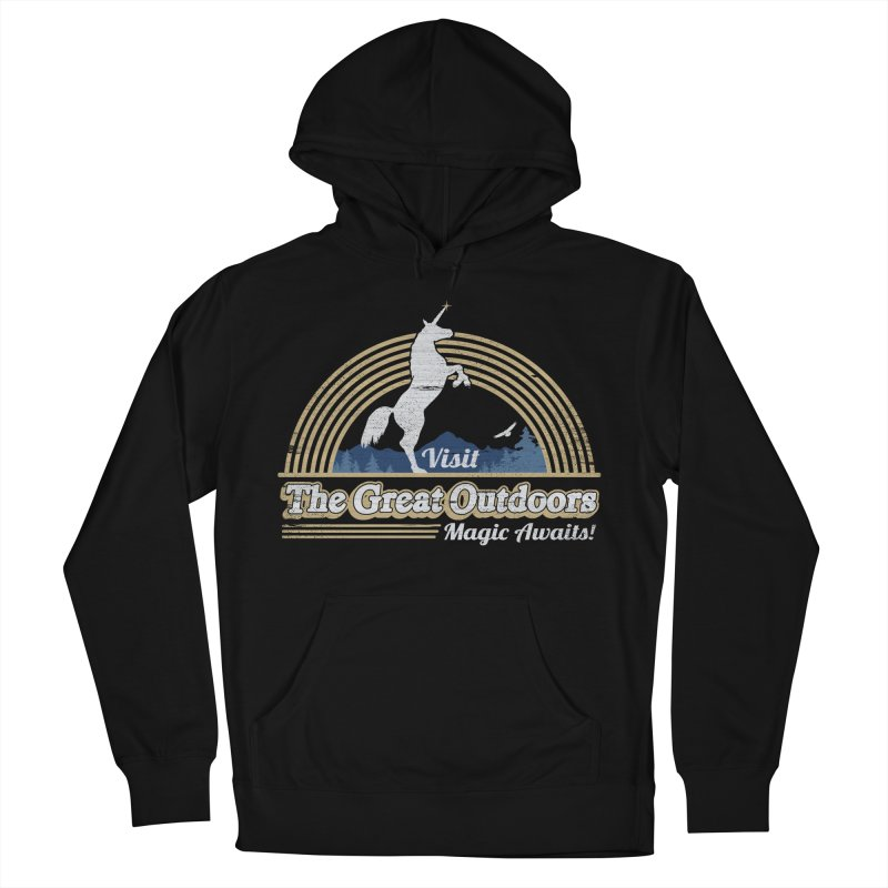 MAGIC AWAITS! Men's French Terry Pullover Hoody by Beanepod