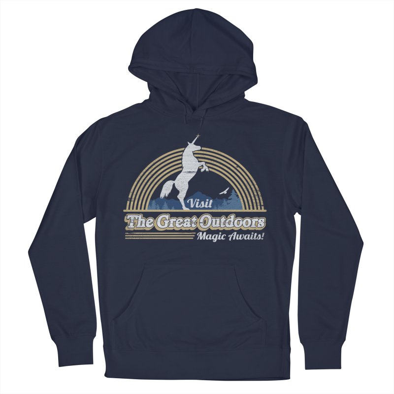 MAGIC AWAITS! Men's Pullover Hoody by Beanepod