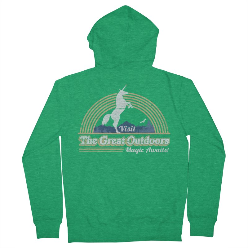 MAGIC AWAITS! Women's Zip-Up Hoody by Beanepod
