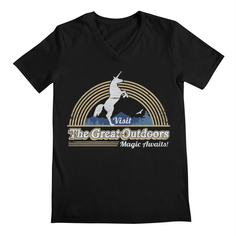 MAGIC AWAITS! Men's V-Neck by Beanepod