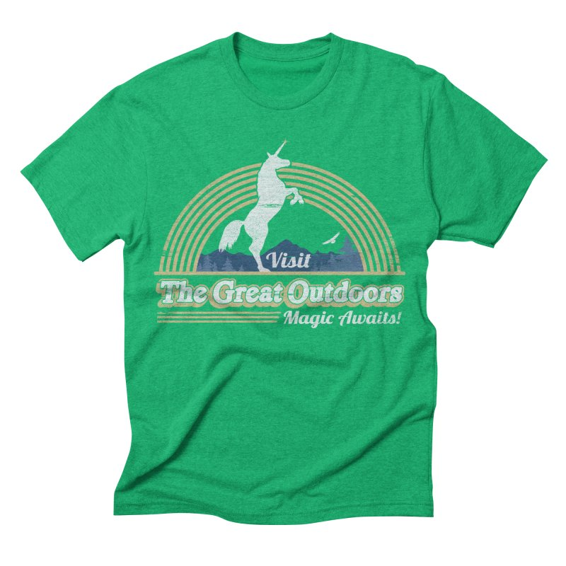 MAGIC AWAITS! Men's Triblend T-shirt by Beanepod