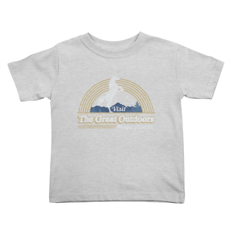 MAGIC AWAITS! Kids Toddler T-Shirt by Beanepod