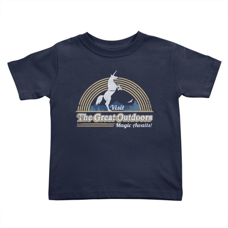 MAGIC AWAITS! Kids Toddler T-Shirt by Beanepod