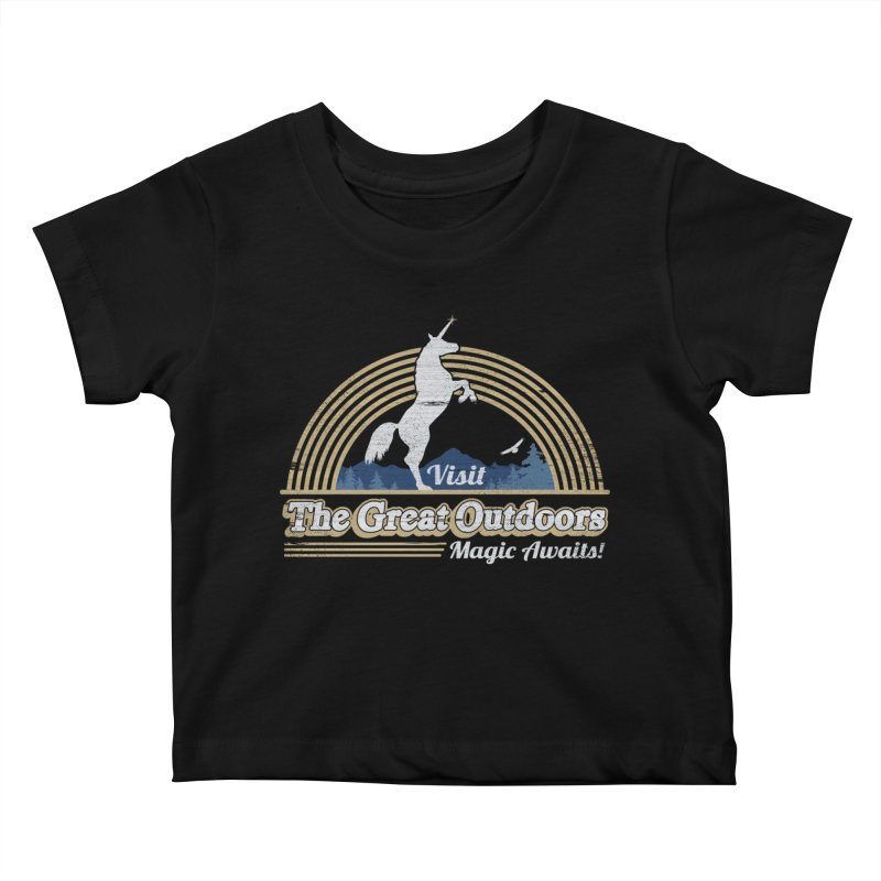 MAGIC AWAITS! Kids Baby T-Shirt by Beanepod