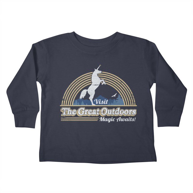 MAGIC AWAITS! Kids Toddler Longsleeve T-Shirt by Beanepod