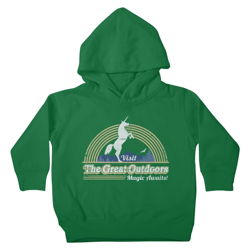MAGIC AWAITS! Kids Toddler Pullover Hoody by Beanepod
