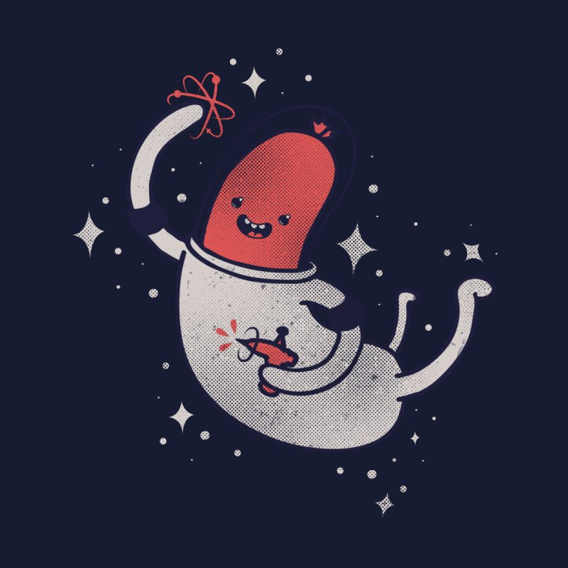 Space Sausage in Outer Space, Yay! by Beanepod