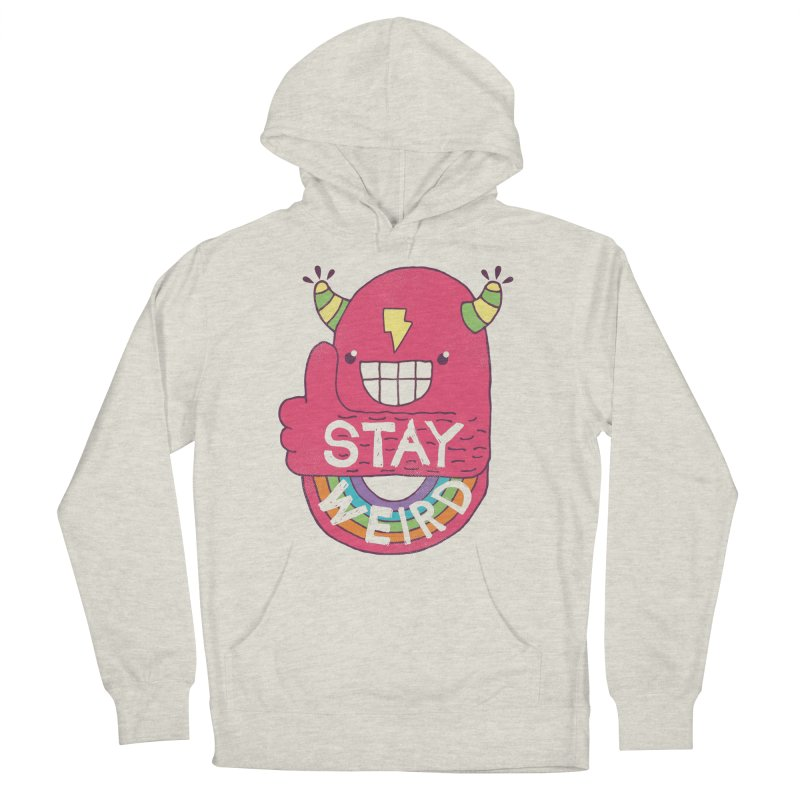 Stay Weird Men's Pullover Hoody by Beanepod