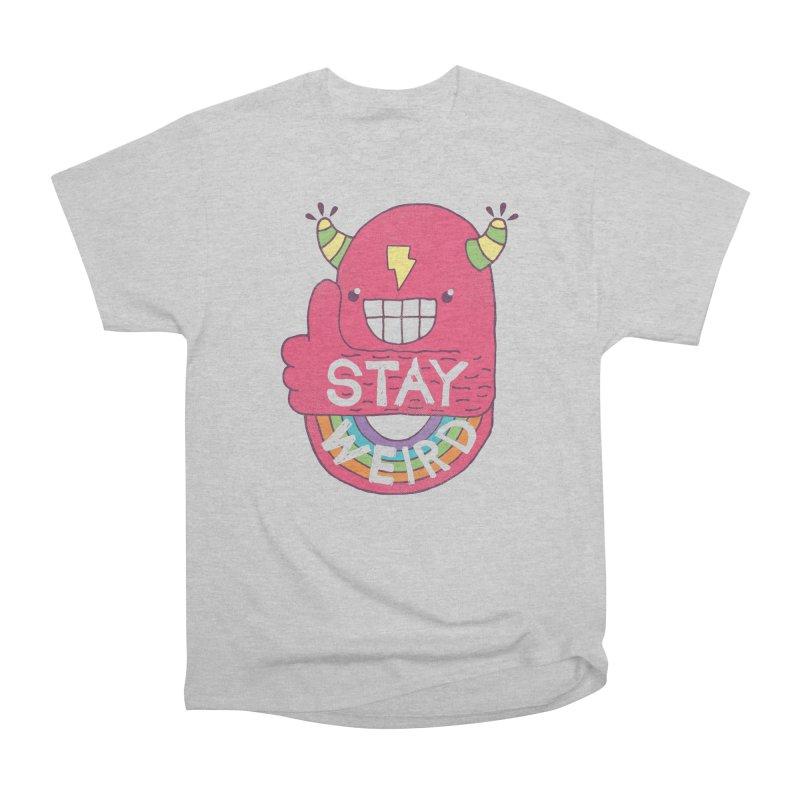 Stay Weird Men's Classic T-Shirt by Beanepod