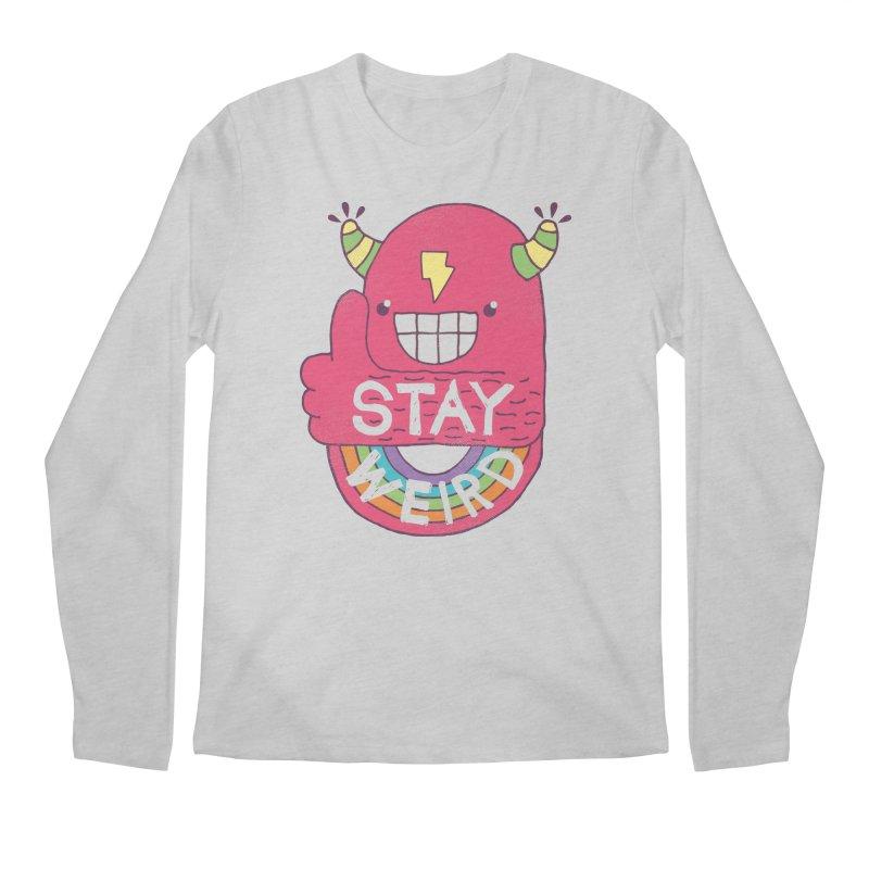 Stay Weird Men's Longsleeve T-Shirt by Beanepod